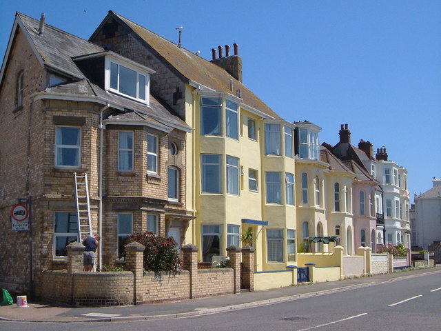 Houses on the Esplanade, Exmouth
