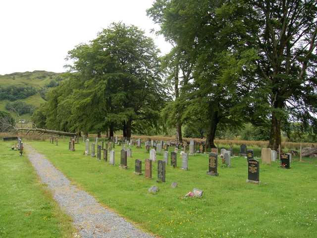 Cemetery at Barnhill