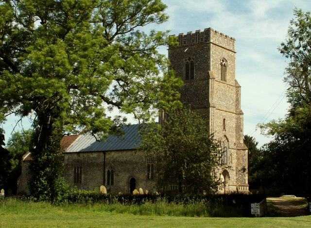 St. Nicholas church, Bedfield, Suffolk