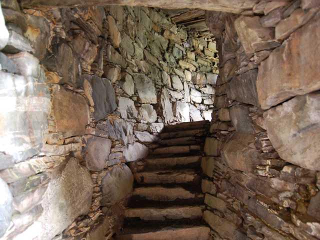 Stairway in Dun Troddan