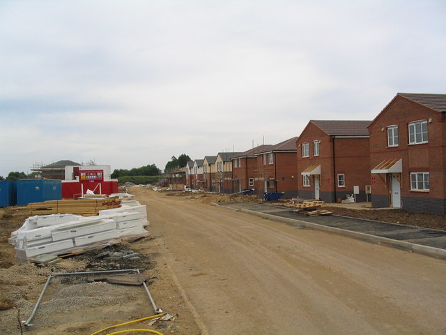 New housing close to RAF Cottesmore