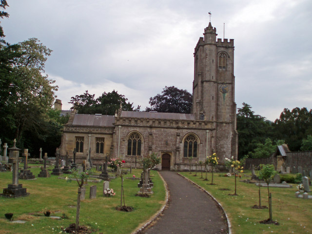 The church of St. Michael and all Angels, Dinder