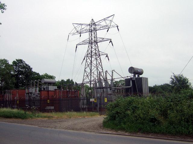 Dawes Lane Electricity Sub Station