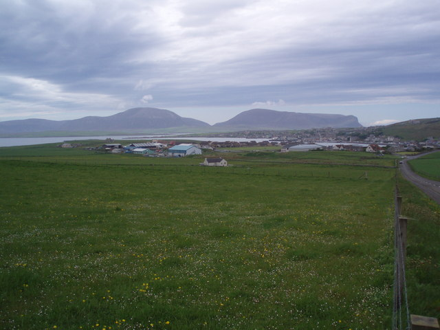 Stromness view from Cairston road.