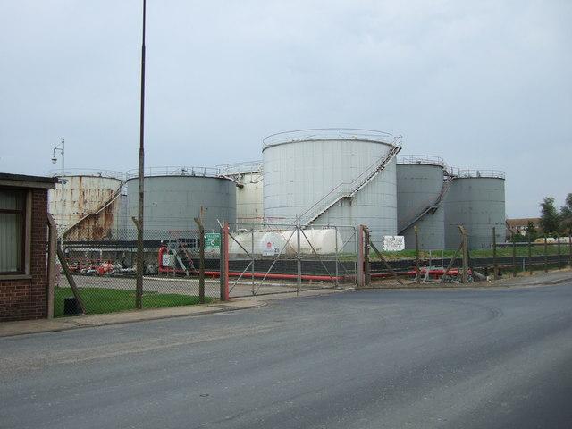 Petroleum depot, King's Lynn.