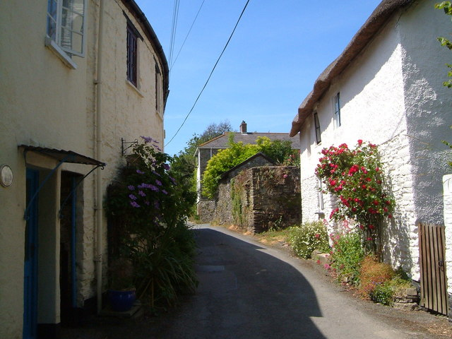 Cottages on Town's Lane, Loddiswell