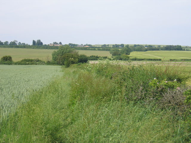 Footpath to Poultons Farm