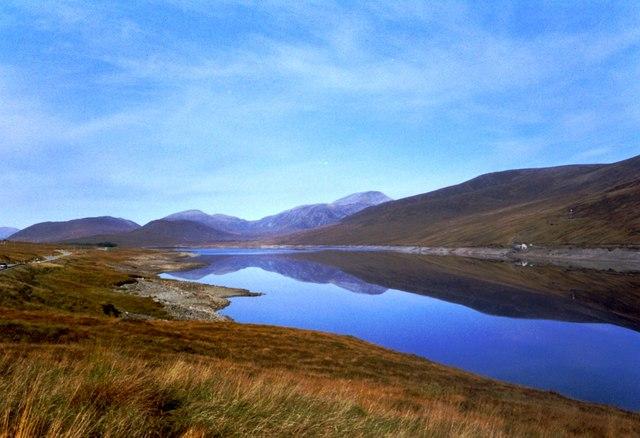 Loch Glascarnoch.