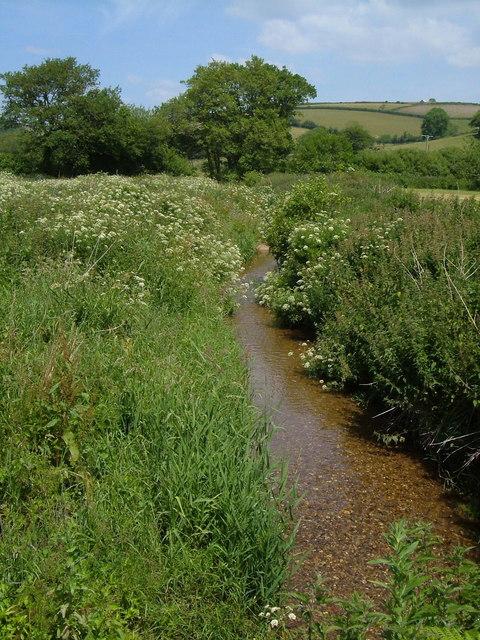 Stream near Knap Mill