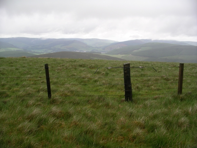Summit fence, Welshie Law