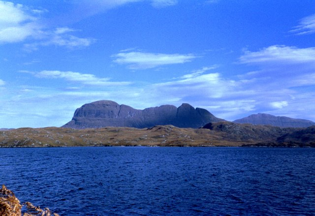 Suilven from Eilean Mor on Loch Sionascaig