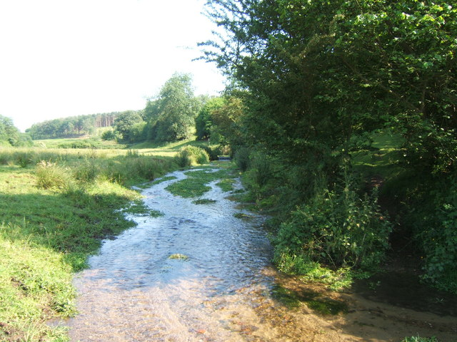 Stream near Ford Farm, Albury