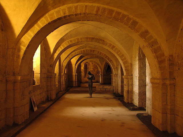 The Crypt : Winchester Cathedral
