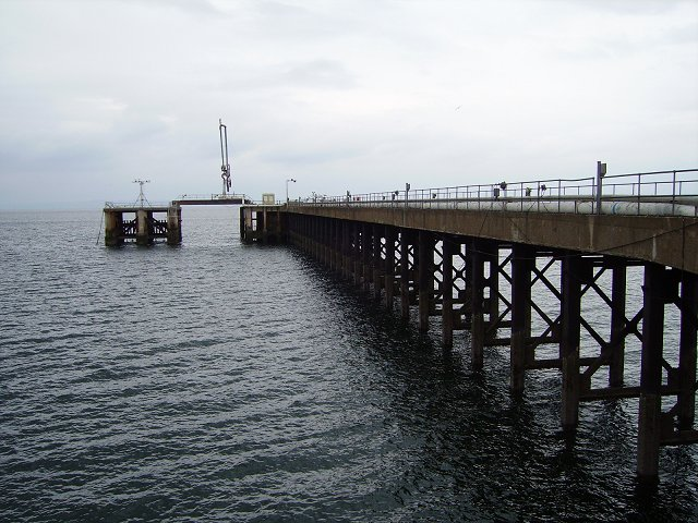 Pier, Cockenzie power station