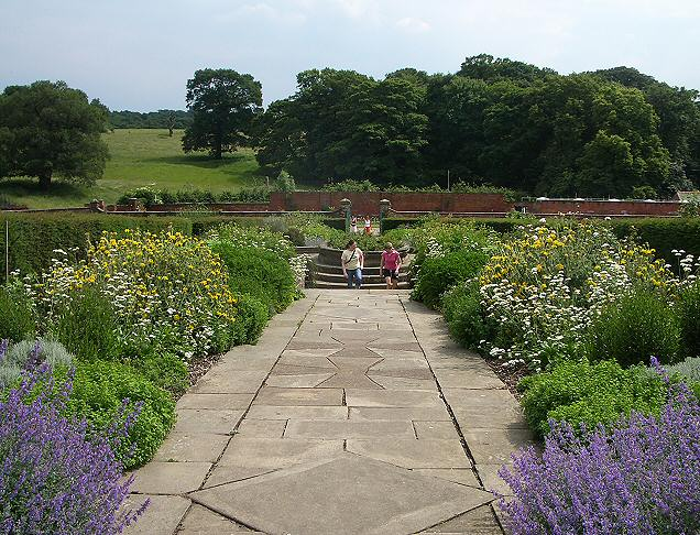 Walled garden, Temple Newsam