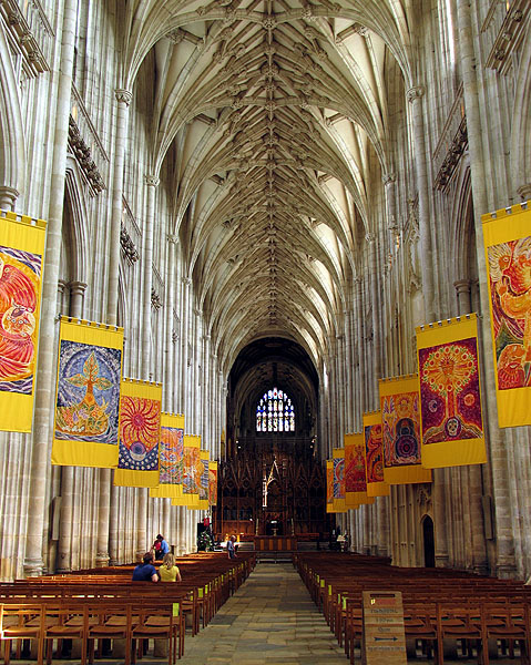 The Nave: Winchester Cathedral