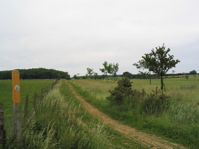 Bridleway alongside the Rutland County Golf Course
