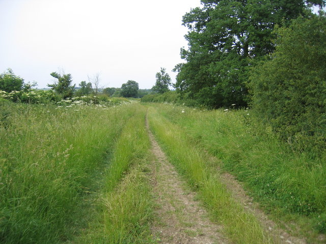 Green lane to Butlers Marston