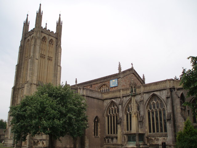 St Cuthbert's church, Wells
