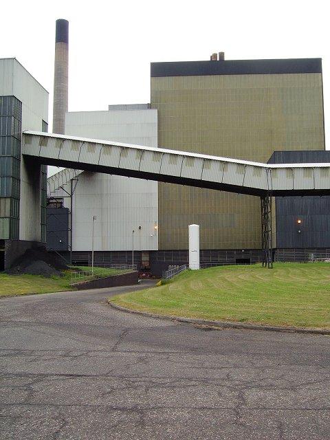 Cockenzie power station, SW elevation