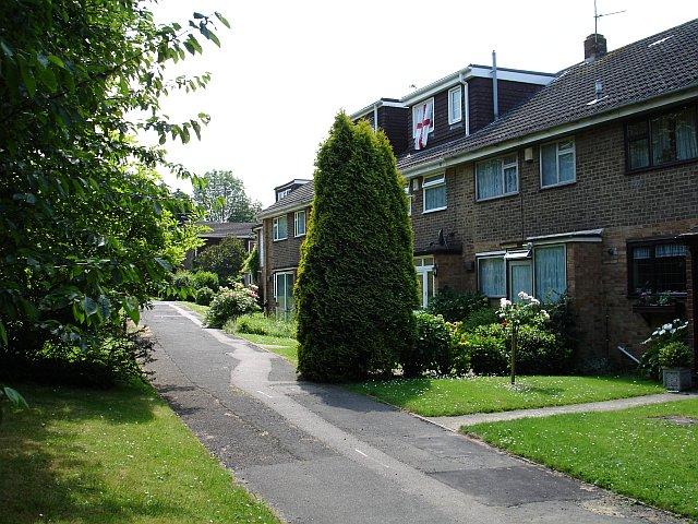 Housing on Otterham Quay Lane