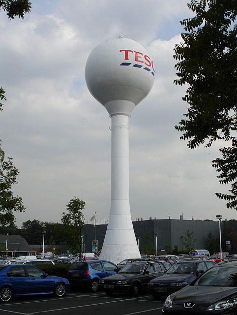 Tesco water tower