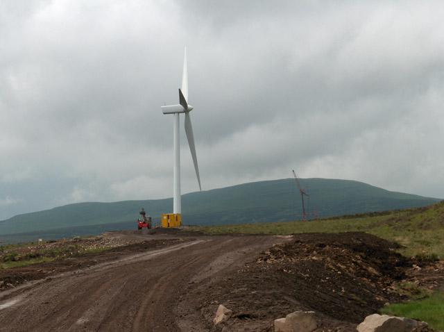 Wind turbine, Braes O'Doune