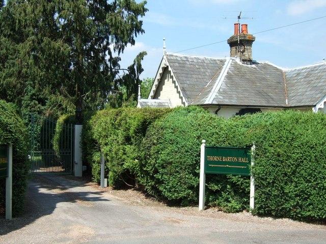 Thorne Barton Hall Lodge