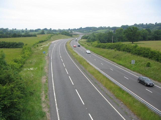 A303 near Bourton