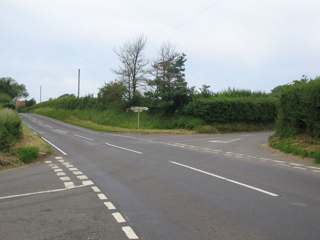 Crossroads on the B3081