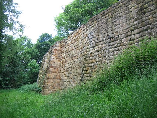 Mulgrave Castle Wall
