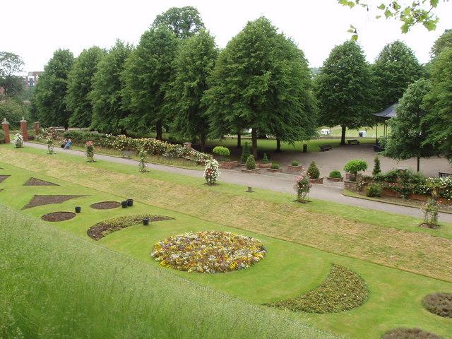 Avignon garden, Colchester castle park