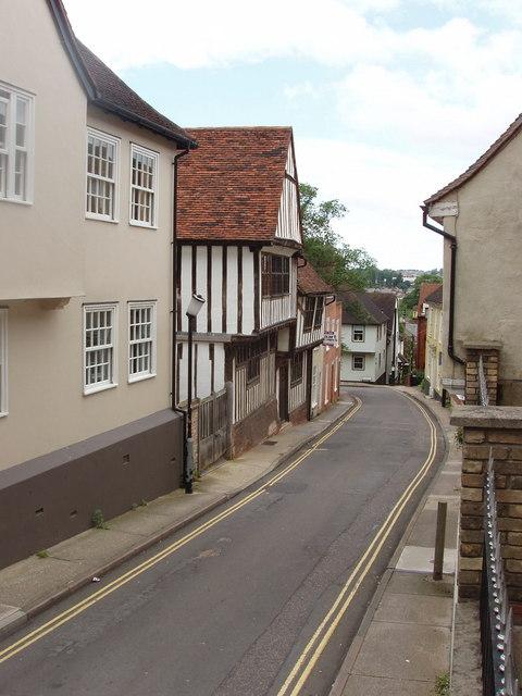 Dutch quarter of Colchester