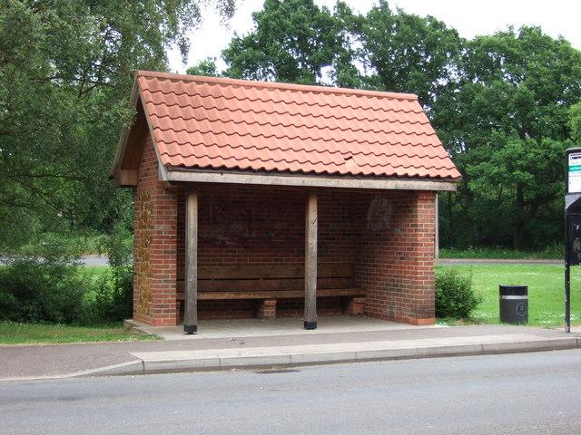 Bus shelter, North Wootton, Norfolk.