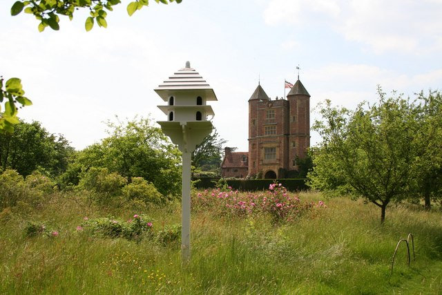 Sissinghurst - view from the orchard