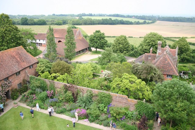 Sissinghurst - view from the tower