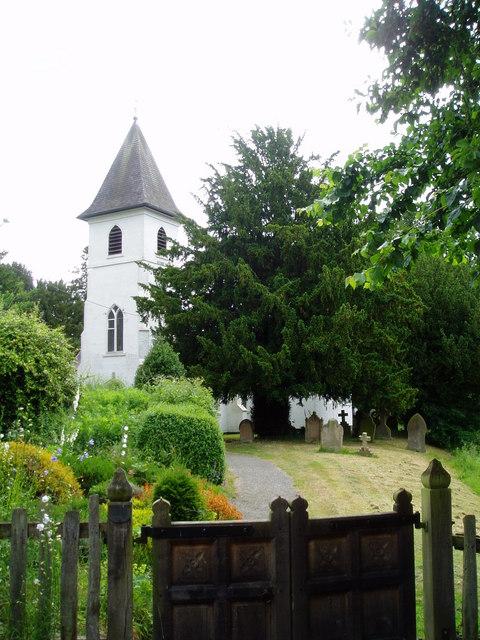 Whitewell church