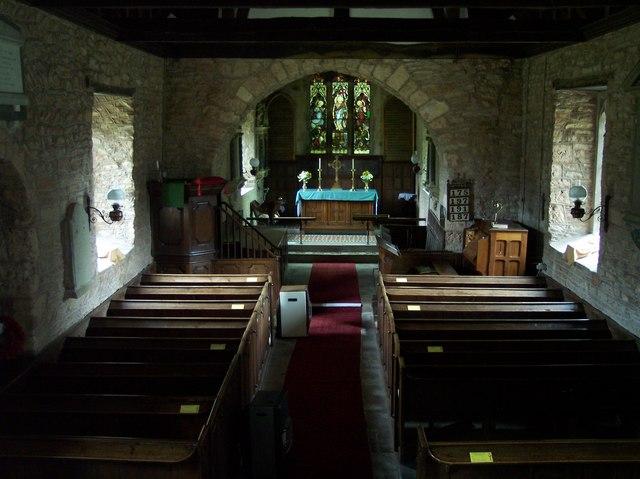 Interior of St Leonards, Hatfield