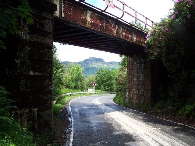 Whistlefield-Portincaple, Railway Bridge