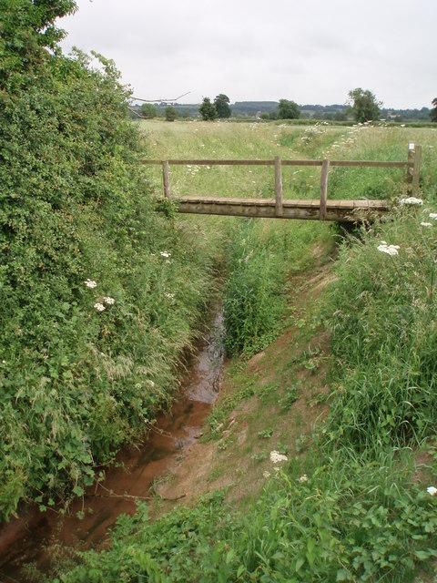 Footbridge over Pool brook