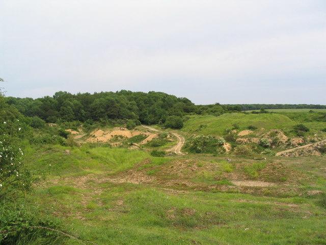 Disused quarry south of Clipsham