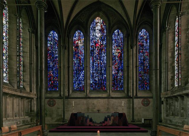 Prisoners of conscience window, Salisbury Cathedral