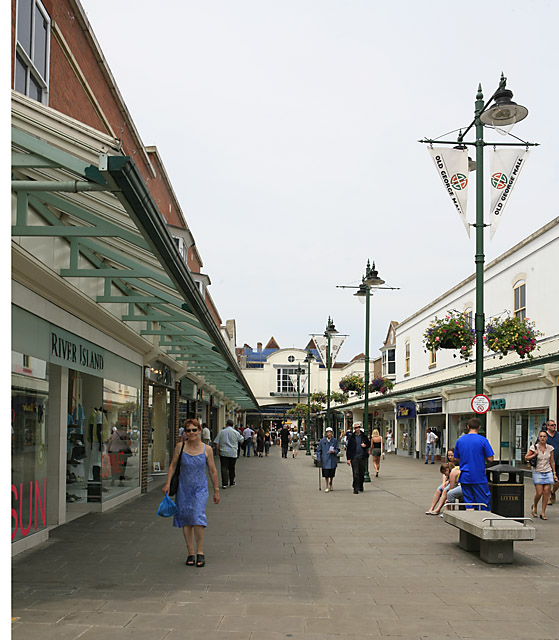 Old George Mall, Salisbury