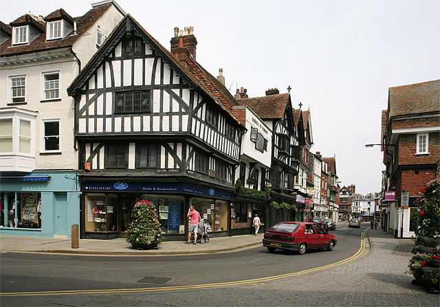 Corner of Silver Street and Minster Street, Salisbury