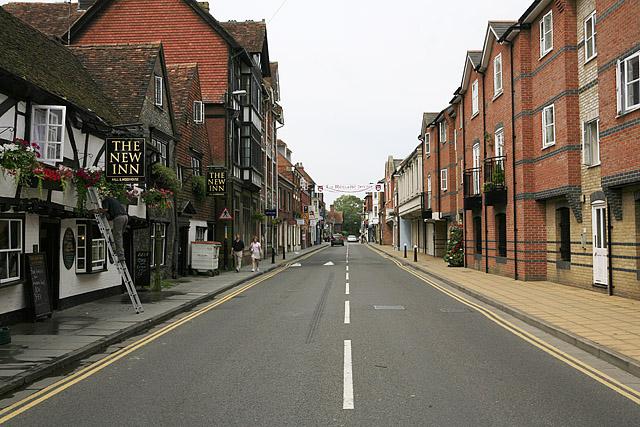 New Street, Salisbury