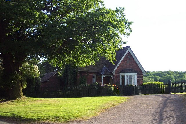 Gatehouse at Entrance to Chestall Estate