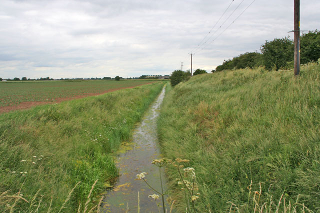 Old Sea Drain near Spalding