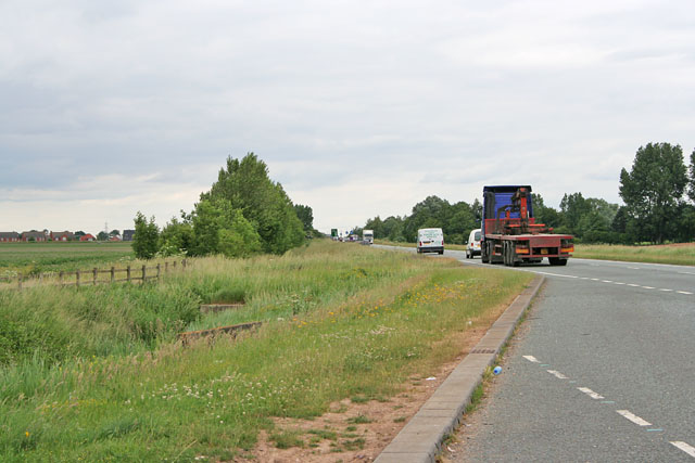 The A16,  Spalding to Boston road