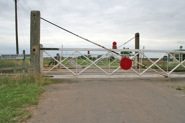 Water Drove Level Crossing