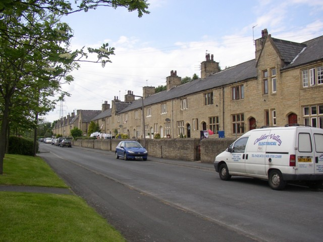 Terrace houses, Copley, Skircoat (Halifax)